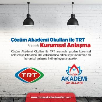 TRT ÇALIŞANLARINA İNDİRİM
