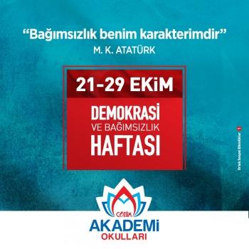 Demokrasi ve Bağımsızlık Haftası