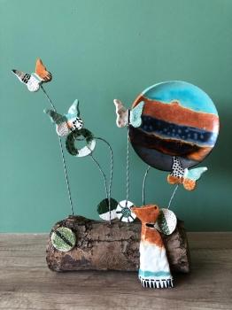 Yaz Okulu Öğrencilerimiz Okulumuz İçin Dekoratif Objeler Tasarladılar