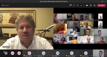 2020-2021 Eğitim Öğretim Yılı Veli Toplantımızı Online Olarak Gerçekleştirdik