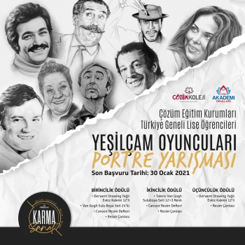 Türkiye Geneli Ödüllü Portre Yarışması