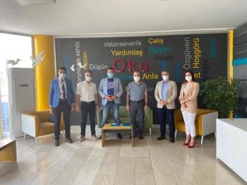 Genel Merkez Heyetimiz Gaziantep Çözüm Akademi Okulları Ortaokulunu Ziyaret Etti