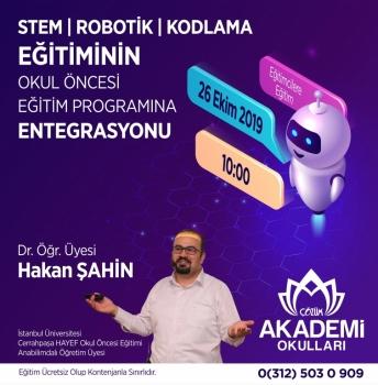 STEM, Robotik, Kodlama Eğitiminin Okul Öncesi Eğitim Programına Entegrasyonu