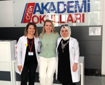 İngilizce Dil Koordinatörü Maryia Torgay, Yıldız, Balgat ve Altındağ Çözüm Akademi Okulu'nda