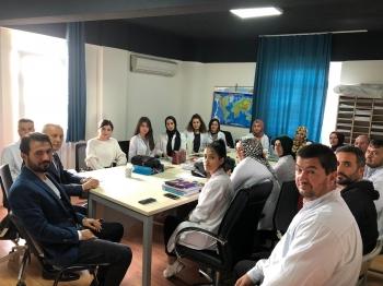Çözüm Eğitim Kurumları Kurumlar Müfettişi Mustafa Özkök, Sarıyer Çözüm Akademi Okulu'nda