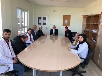 Maarif Müfettişimiz Mustafa Özkök, Adıyaman Kahta Çözüm Akademi Okulları'nda