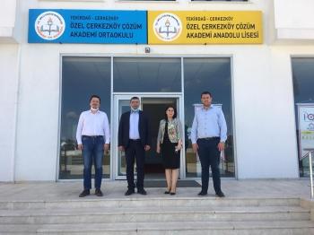 Genel Müdür Yardımcımız Sayın Can Serdar, Çerkezköy Çözüm Akademi Okulları'nı Ziyaret Etti