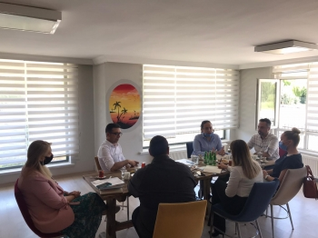 Çözüm Eğitim Kurumları Genel Merkez Heyetimiz Gölbaşı Çözüm Akademi Anadolu Lisesi'ni Ziyaret Etti